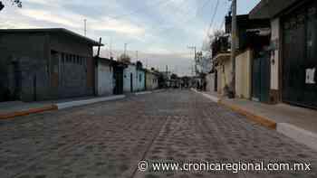 Mejoramiento urbano para Dolores de Ajuchitlancito, Pedro Escobedo - Crónica Regional