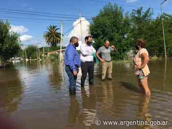 El Ministerio de Desarrollo Social asiste a las familias evacuadas de Dolores - Argentina.gob.ar Presidencia de la Nación
