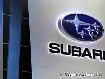 Subaru to cut U.S. and Japan output, citing chip shortage