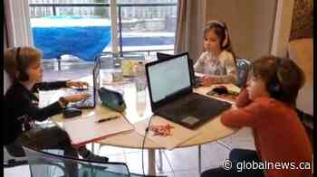 Coronavirus: Ontario parents, children dealing with stress of virtual learning