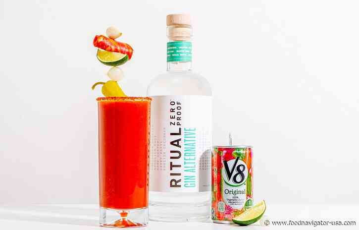 Ritual Zero Proof relies on partnerships with Campbell's V8, others to drive sales without sampling