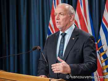 COVID-19: Premier Horgan to seek legal advice limiting interprovincial travel