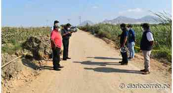 Inspeccionan avances en mantenimiento de camino vecinal Paiján-El Milagro - Diario Correo