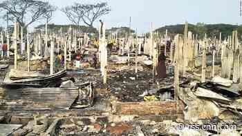 Fire destroys homes of thousands in Bangladesh Rohingya refugee camps, UN says