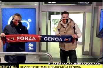 📸 FOTO – Genoa, ecco Strootman: l'ex Roma è arrivato in città per le visite - SOS Fanta