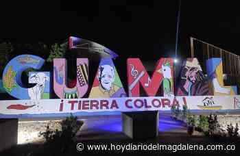 Terminado el mural 'Guamal Tierra Colorá' en Guamal - Hoy Diario del Magdalena