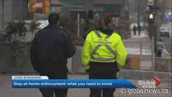 Coronavirus: Police not authorized to stop people randomly under Ontario's stay-at-home order