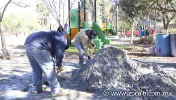 Aceleran trabajos para remodelación de plazas públicas en Ramos - Periódico Zócalo