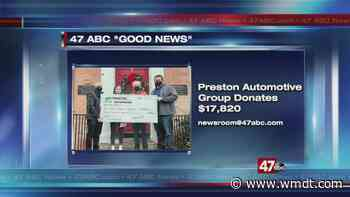 Preston Automotive donates to Mid-Shore Community COVID-19 Response Fund - 47abc - WMDT