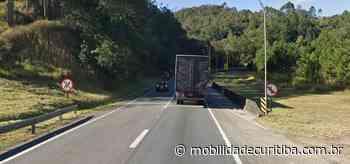 Veículo em pane interdita parcialmente BR-116 em Campina Grande do Sul - Mobilidade Curitiba