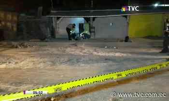 Hombre fue asesinado de 10 disparos en Machala - tvc.com.ec