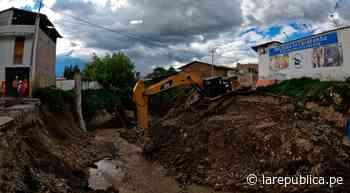 Cajamarca: reconstruyen puente Los Ingenieros en la ciudad de Cajabamba LRND - LaRepública.pe