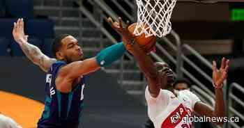 Toronto Raptors beat Charlotte Hornets 111-108