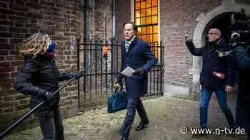 Nach Kinderbeihilfen-Skandal: Medien: Niederländische Regierung tritt zurück