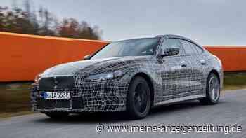 BMW i4: Erste Eindrücke des Stromers, der dieses Konkurrenzmodell in die Schranken weisen soll
