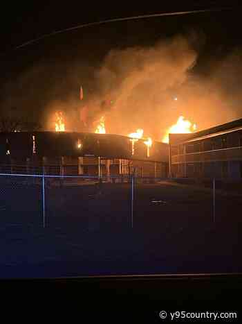 Cheyenne Hitching Post On Fire, Motorists Asked To Avoid Area