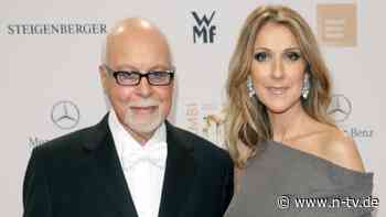 """""""Denke jeden Tag an dich"""": Céline Dion schreibt Brief an toten Ehemann"""