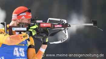 Biathlon JETZT im Live-Ticker: Bravo, Erik! Furioses Schießen katapultiert deutsche Staffel an die Spitze