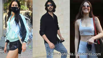 From Sara Ali Khan to Alaya F, Bollywood celebs spotted in Mumbai