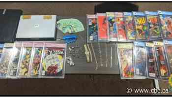 Haldimand man arrested after stealing $9K in jewelry and collectable comic books