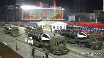 North Korea unveils submarine-launched ballistic missile