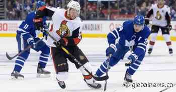 'They're going to be a force': Maple Leafs' Keefe sees brighter days for Ottawa Senators