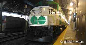 With ridership down due to COVID-19 pandemic, changes made to Go Transit, UP Express service