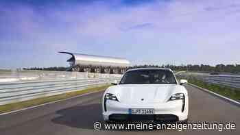 Porsche Taycan schlägt Tesla Model 3 bei Rennen - mit knapp einer Stunde Vorsprung