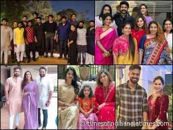 Sankranthi Celebration at Chiranjeevi's home