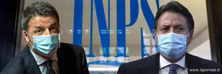"""La guerra tra Conte e Renzi può far """"saltare"""" le pensioni"""