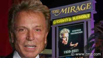 Vegas Strip Pays Tribute to Siegfried Fischbacher Following Death