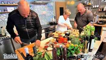 Fernsehstar drehte in Kropp: TV-Koch Frank Rosin half Gaby und Thomas Haedicke vom Geestlandtreff | shz.de - shz.de