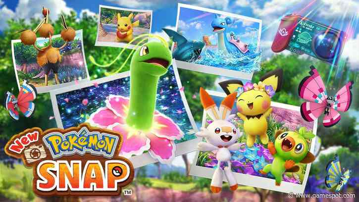New Pokemon Snap File Size, More Details Revealed
