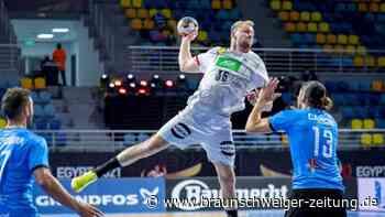 Auftakt in Ägypten: Deutsche Handballer starten mit Kantersieg in die WM