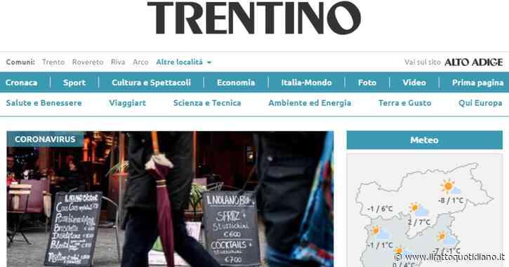 """Dopo 75 anni chiude il quotidiano Trentino: """"Non sostenibile economicamente"""". Ammortizzatori sociali per i 18 giornalisti"""