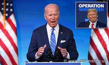 Biden will rename Operation Warp Speed as part of massive effort to roll out vaccines