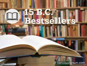 B.C.: 15 bestselling books for the week of Jan. 9