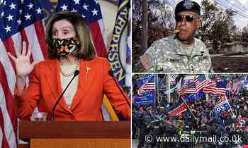 Pelosi says Republicans who 'aided' Capitol riots risk prosecution
