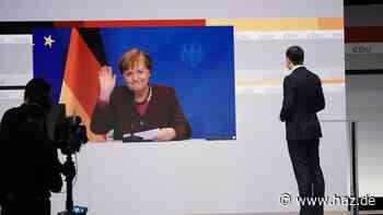 """Merkel wirbt indirekt für Laschet als CDU-Chef: """"Wünsche mir, dass ein Team gewählt wird"""""""