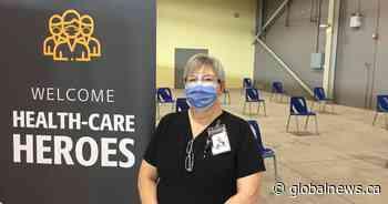 Retired nurses stepping up to help the coronavirus vaccine efforts in London, Ont. - Global News