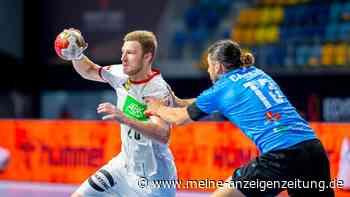 """Handball-WM: Deutschland überrollt Uruguay! Bundestrainer Gislason grantelt: """"Darf uns nicht passieren"""""""