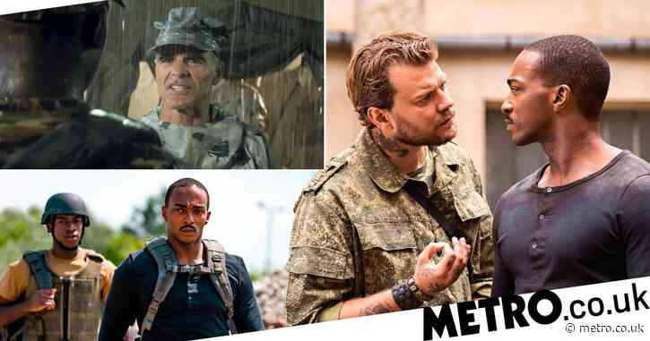 Outside The Wire: Who is in the cast of the Netflix movie?
