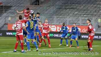 Eintracht erkämpft sich zu neunt einen Punkt in Würzburg