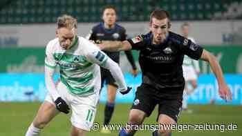 2. Liga: Fürth und Würzburg verpassen wichtige Heimsiege