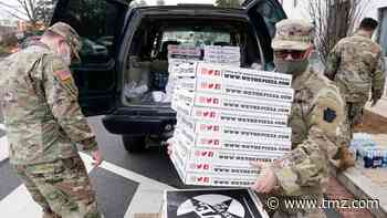 Cargo Van Load of Pizza Delivered to National Guard Troops in D.C.