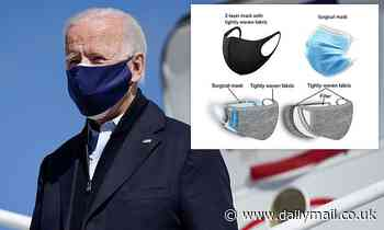 Coronavirus: Wearing TWO masks block 20% more particles than one