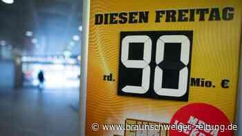 Gewinner aus NRW: Erneut 90-Millionen-Euro-Jackpot in Deutschland geknackt