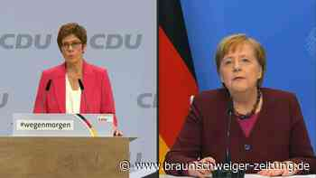 AKK und Merkel eröffnen Bundesparteitag der CDU
