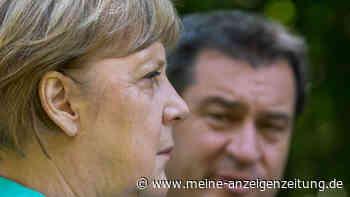 """Söder schwärmt auf CDU-Parteitag von Merkel: """"Sie hält uns zusammen"""" - und zieht dann herben Corona-Vergleich"""