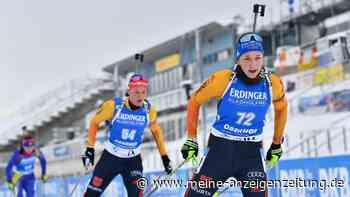 Biathlon in Oberhof im Live-Ticker: Deutsches Frauen-Quartett peilt nach Debakel der Herren Podest-Platz an